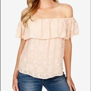 ✨HP✨ NWT LUCKY BRAND OFF THE SHOULDER TOP SMALL